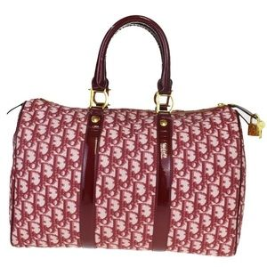 Authentic Christian Dior Trotter Pattern Bag